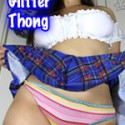 Glitter Thong Panties